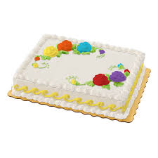 Sheet Cake Decoration Buttercream Iced Sheet Cake Publix Com