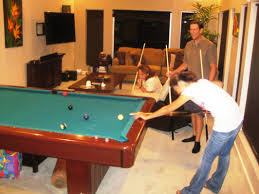 Billiard Room Decor Pool Table Small Room Table Designs