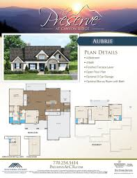 new home blueprints the preserve at canyon ridge announce 2 new home plans check it