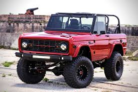 future ford bronco this complete restoration of 1976 ford bronco is a thing of beauty
