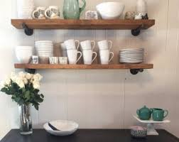 Floating White Shelves by Floating Shelf Etsy