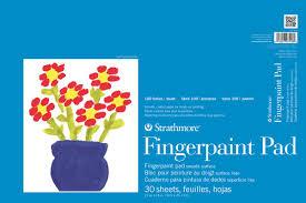 strathmore kids fingerpaint pad artist papers