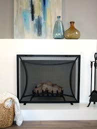 fireplace trendy designer fireplace screens for you contemporary