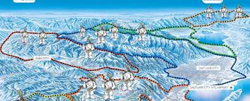 Park City Utah Trail Map by 14 Resorts In 14 Days Ski Utah