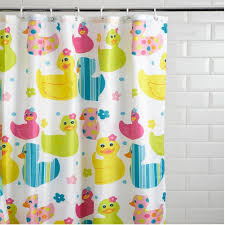 new kids quackers duck design childrens shower curtain non slip new kids quackers duck design childrens shower curtain
