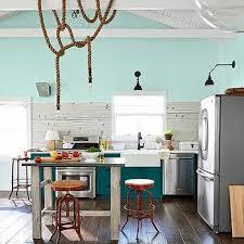 Vintage Blue Cabinets Blue Vintage Kitchen Appliances Design Ideas