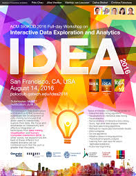 interactive data exploration and analytics idea 2016 workshop