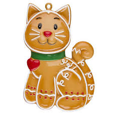 best 28 personalized cat christmas tree ornaments gingerbread