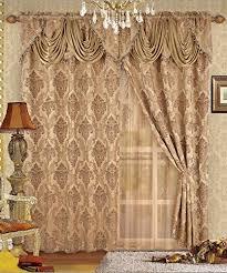 Fancy Drapes Fancy Window Curtains Amazon Com