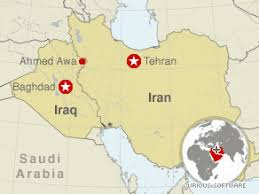 map iran iraq 3 american hikers detained by iran named cnn