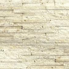Split Face Stone Backsplash by Nysa Travertine Mosaic Tile Qdisurfaces