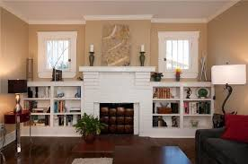 Built In Bookshelves Around Fireplace by Built In Bookcases Around Fireplace Built In Bookcases Around