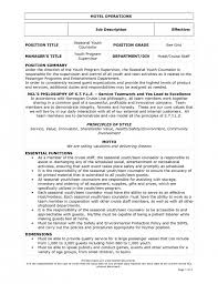 Resume Sample For Waiter Position by Awesome Head Waiter Job Description Resume 99 For Your How To Make
