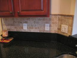 Granite Countertops And Kitchen Tile Kitchen Fabulous This Tile Backsplash Gives Contrast To The