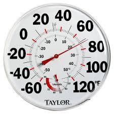 Patio Clock And Thermometer Sets by Amazon Com Taylor Temperature Humidity Gauge Outdoor