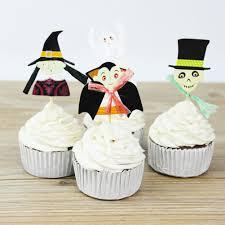 online get cheap halloween skull cake toppers aliexpress com