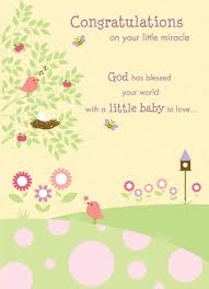 congrats on your new card congratulations on your new miracle baby greetings gifts