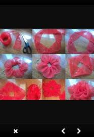 tulle flowers tulle flowers diy android apps on play
