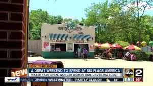 Six Flags America Map by Events At Six Flags America Youtube