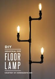 industrial pipe light fixture how to make an industrial pipe floor l how about orange