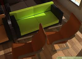 How To Choose A Couch How To Choose A Sofa Set 7 Steps With Pictures Wikihow