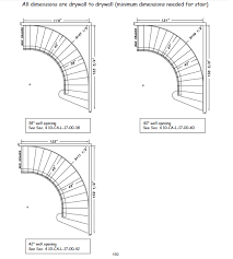 house plans stairs dimensions staircase gallery