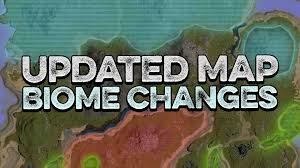 Biomes Map Ark Updated Upcoming Map Biome Changes Redwoods Extended Snow