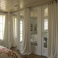 Drapes Over French Doors - 79 best window treatments images on pinterest home decor