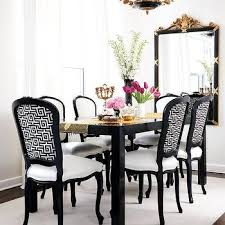 black and white dining room ideas black dining table design ideas