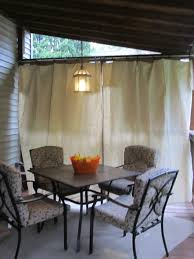no sew canvas drop cloth curtains easy for party privacy only