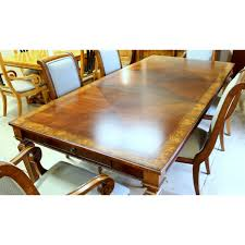 ethan allen dining table w 6 chairs upscale consignment