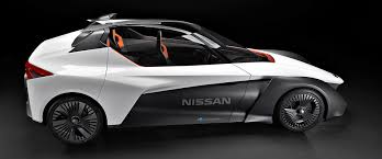 car nissan nissan bladeglider 3 seater electric vehicle debuts in rio