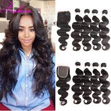 sew in with lace closure hair zinc picture more detailed picture about indian hair