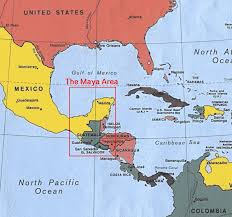mayan empire map civilization location images pictures becuo