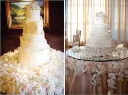 wedding cake display 15 stunning cake table ideas the magazine