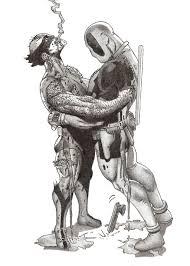 wolverine and deadpool bro hug o u0027 death by papajohnny on deviantart