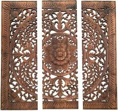 wooden wall plaques decor wood carved wall plaque floral wood wall panels asiana