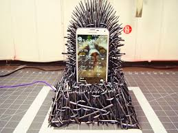 Chair Game Of Thrones Game Of Thrones U2013 Iron Throne Phone Charger Business Insider