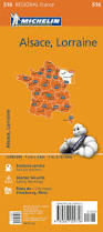 Alsace Lorraine Map Alsace Lorraine 516 France Michelin Map