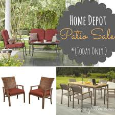 Patio Furniture At Home Depot - home depot patio furniture sale 50 off sets today only