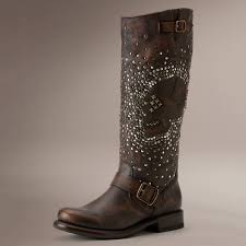 womens tall motorcycle boots jenna skull stud women u0027s leather boots so that u0027s cool