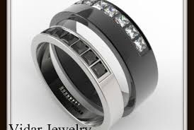 epic wedding band one of a designer matching wedding bands vidar jewelry