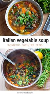 quick u0026 easy italian farmhouse vegetable soup instant pot recipe