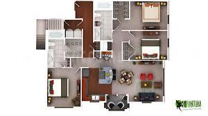 architecture 3d floor plan design by yantramstudio village