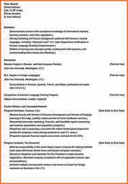 Microsoft Works Resume Template Resume