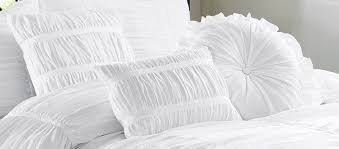 White Bed Set King Amazon Com Chezmoi Collection 6 Piece Chic Ruched Comforter Set