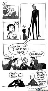 Meme Slender Man - slender man by bloodluzt1212 meme center