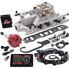 edelbrock 3241 pro flo 3 efi system small block ford jegs