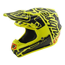 youth motocross helmets troy lee designs lightweight se4 polyacrylite youth motocross