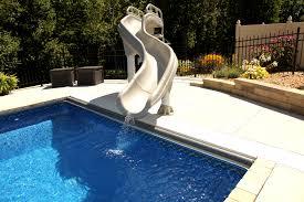 water slide for inground pool round designs